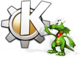 Konqi the KDE Dragon